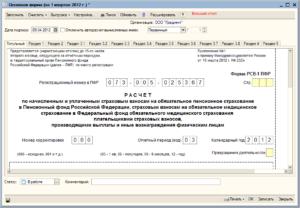 РСВ-1 в 2019 году: правила корректировки и дополнительное уточнение