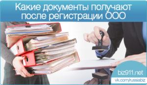 Что делать после регистрации ООО