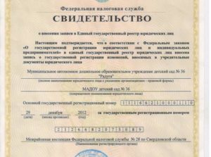 Расшифровка ОГРН юридического лица