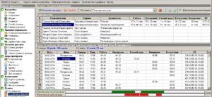 Ведение системы учета рабочего времени на предприятии