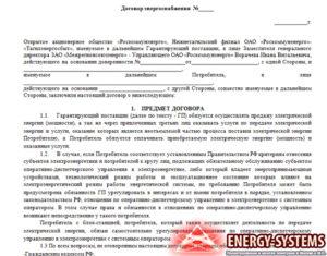 Договор энергоснабжения. Как оплачивать мощность при нескольких точках поставки