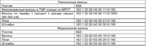 Реквизиты для уплаты страховых взносов ФСС в 2019 году