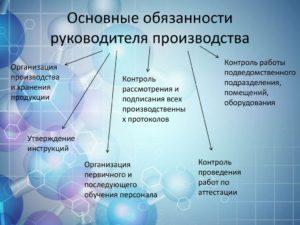 Должностная инструкция и требования к заместителю директора по производству