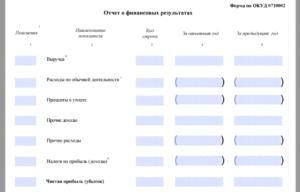 Бухгалтерская отчетность малого предприятия в 2019 году