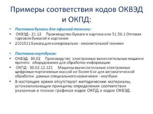 Определение ОКВЭД 2 по ОКПД 2 и отличие