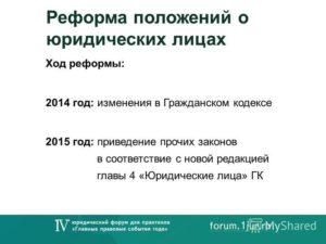 Седьмой блок поправок в ГК РФ. Что глобально изменится в положениях о юридических лицах