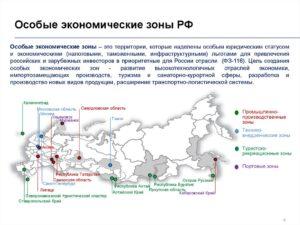 Виды и определение свободных экономических зон (СЭЗ) в России