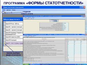 Формы статистической отчетности в 2019 году