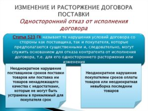 Договор поставки – условия заключения, расторжения и нюансы исполнения