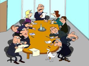 Зачем юристам ходить на совещания?
