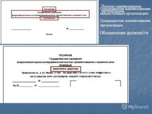 Полное и сокращенное наименование организации: правила подбора и проверки