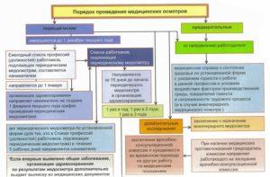 Медицинские осмотры: виды и порядок прохождения