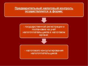О налоговом контроле в РФ
