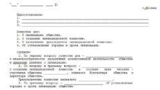 Как составить протокол общего собрания учредителей о ликвидации ООО?