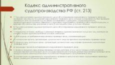 Важные сроки в КАС РФ