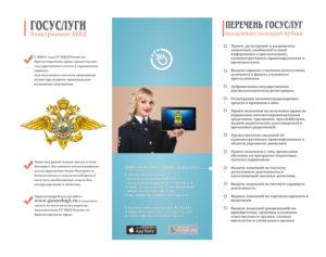 К вопросу оказания государственных услуг МВД России
