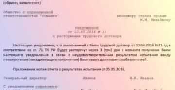 Увольнение на испытательном сроке по инициативе работодателя: пошаговая инструкция
