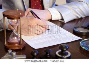 Юридические тонкости визирования документов
